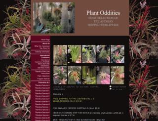 plantoddities.com screenshot