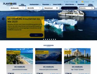 plantours-partner.de screenshot