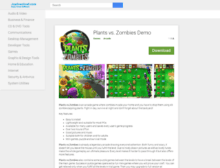 plants-vs-zombies.joydownload.com screenshot