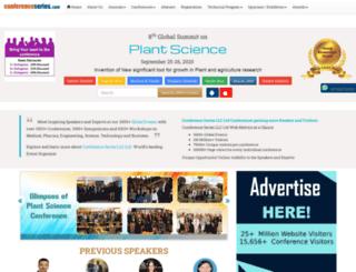 plantscience.global-summit.com screenshot