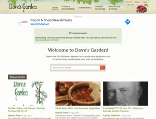 plantsdatabase.com screenshot