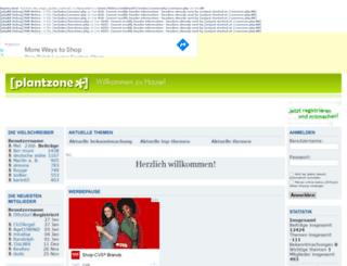 plantzone.net screenshot