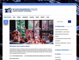 planujemydom.com.pl screenshot
