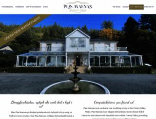 plas-maenan-hotel.co.uk screenshot