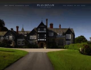 plasdinamcountryhouse.co.uk screenshot