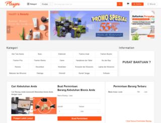 plasgos.com screenshot