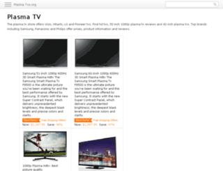plasma-tvs.org screenshot