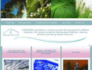 plasmatech-fzc.com screenshot
