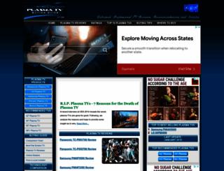 plasmatvbuyingguide.com screenshot