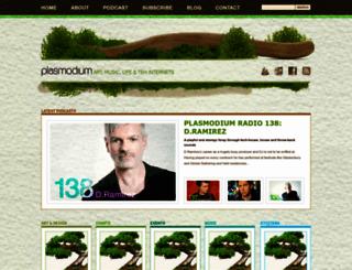 plasmodium.net screenshot