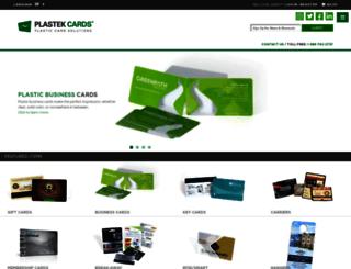 plastekcards.com screenshot