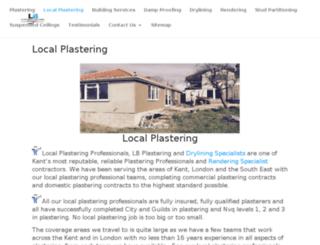 plastererlocal.co.uk screenshot