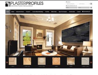 plasterprofiles.com.au screenshot