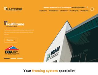 plastestrip.com screenshot
