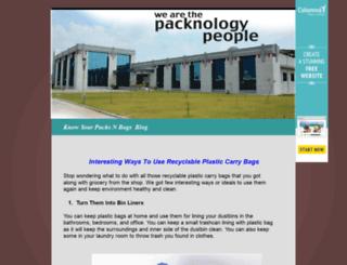 plasticbagsrecycling.cabanova.com screenshot