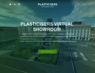 plasticisers.org screenshot