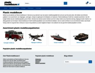 plasticmodelbouw.nl screenshot