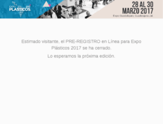 plasticos.infoexpo.com.mx screenshot