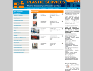 plasticservices.fr screenshot