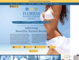 plasticsurgeryjacksonville.com screenshot