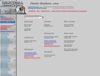 plasticwashers.com screenshot