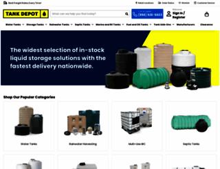 plasticwatertanks.com screenshot
