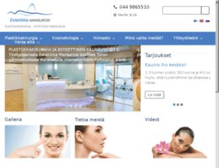 plastiikkakirurgiaturku.fi screenshot