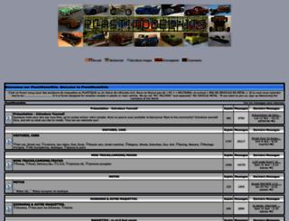 plastimodelkits.keuf.net screenshot