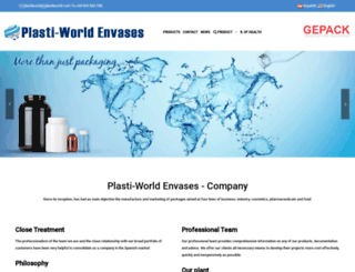 plastiworldenvases.com screenshot