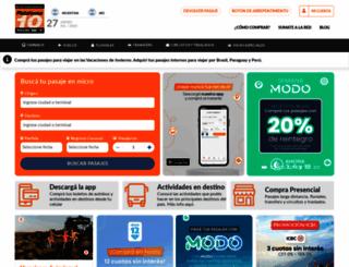 plataforma10.com screenshot