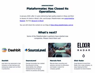 plataformatec.com.br screenshot