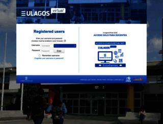 plateados.ulagosvirtual.cl screenshot