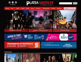 plateasantafe.com.ar screenshot