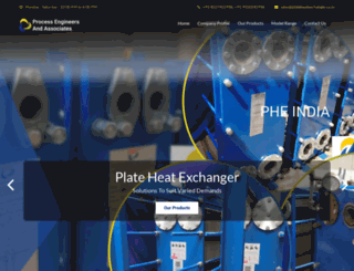 plateheatexchanger.co.in screenshot