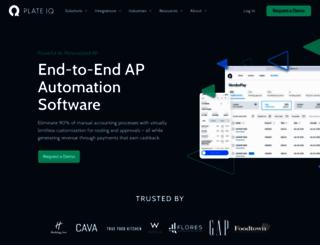 plateiq.com screenshot