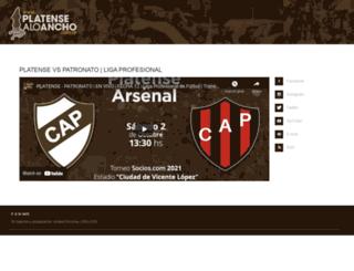 platensealoancho.com.ar screenshot