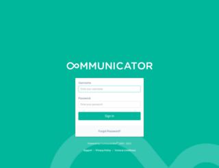 platform.communicatorcorp.com screenshot