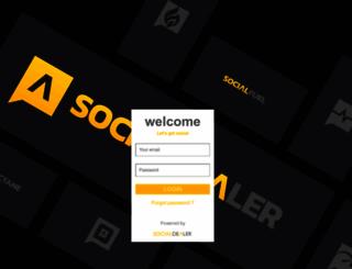 platform.socialdealer.com screenshot