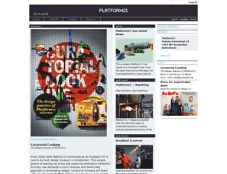 platform21.nl screenshot