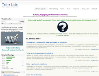 platforma.tajnedane.pl screenshot