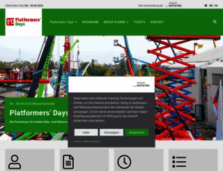 platformers-days.de screenshot