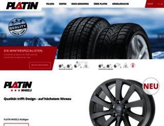 platin-wheels.com screenshot