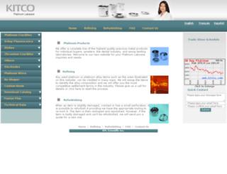 platinum.kitco.com screenshot