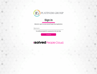 platinum.myisolved.com screenshot