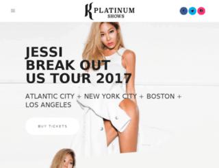platinumkshows.com screenshot
