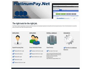 platinumpay.net screenshot