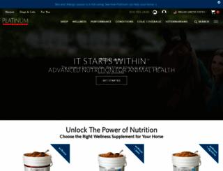 platinumperformance.com screenshot