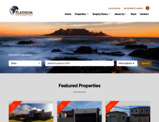 platinumprops.co.za screenshot