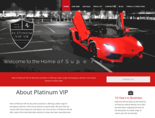 platinumvipuk.com screenshot