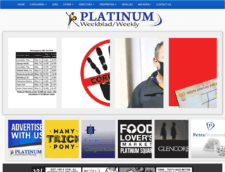 platinumweekly.co.za screenshot